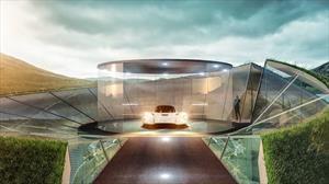 Aston Martin puede diseñar cocheras de ensueño para sus clientes