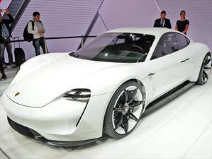 Porsche Mission E, un súper auto eléctrico