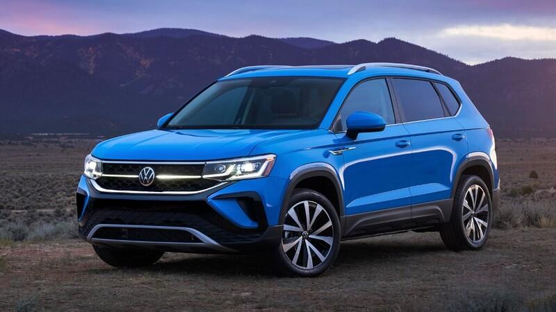 Volkswagen Taos 2022 tendrá otro motor en EE.UU.