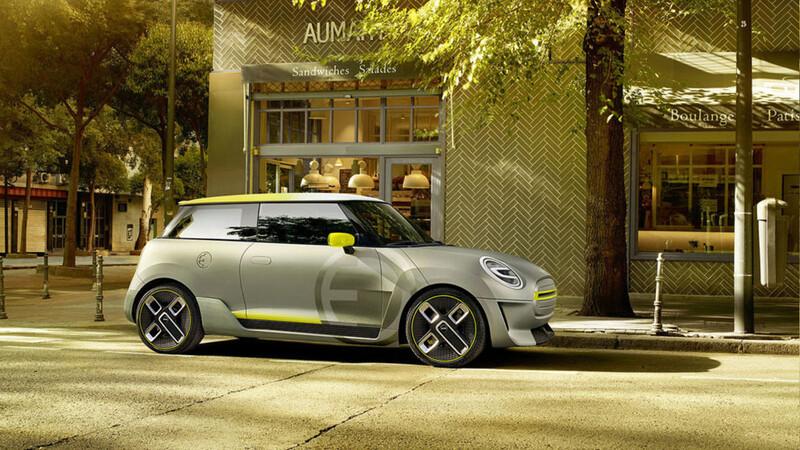 MINI prepara una SUV eléctrica con similitudes al BMW X1