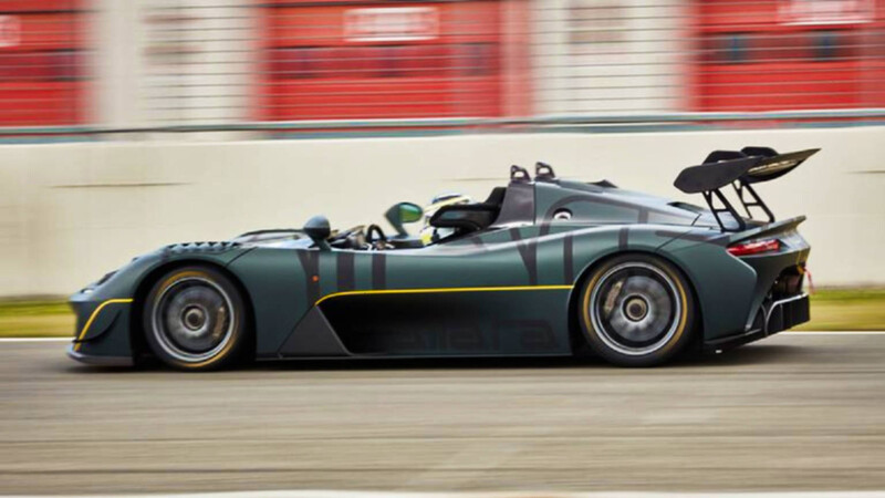 Dallara EXP, experiencia pura de carreras