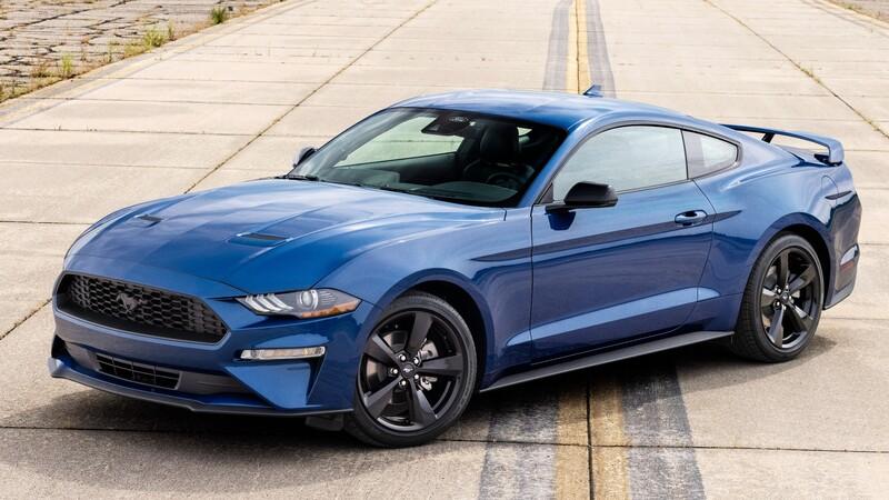 Ford Mustang 2022 aparece con dos ediciones especiales: Stealth Edition y California Special