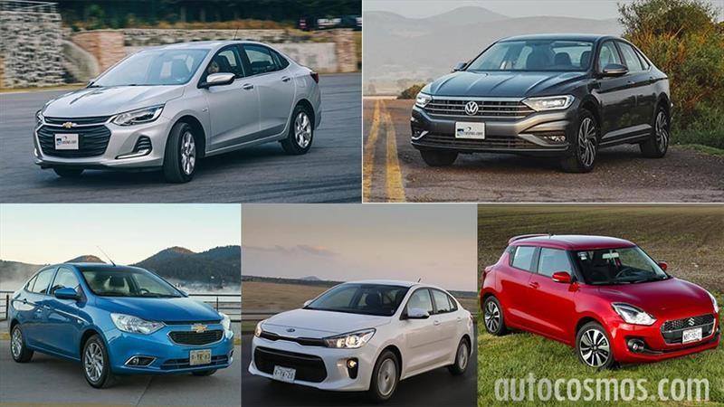 Los 10 autos más vendidos en abril 2020