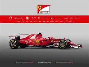 F1 2017: La Ferrari SF70H promete devolverle la gloria a la escudería italiana