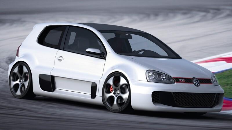 Esta es la historia del VW Golf GTI con un W12 de 650 Hp
