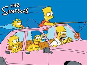 ¡Ya sabemos que auto conduce Homero Simpson!