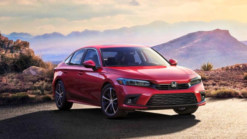 Honda Civic 2022: El sedán compacto deja ver su nueva cara