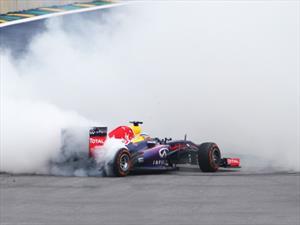 F1: este año está permitido hacer Donuts