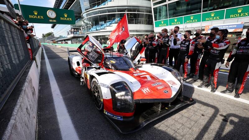 WEC 2021, Toyota triunfa en las 6 Horas de Monza