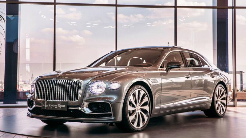 Bentley Flying Spur 2021 en Chile: lujo a raudales
