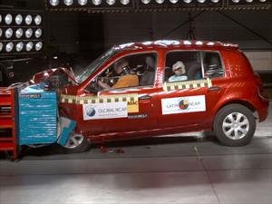 Renault Clio Mio obtiene cero estrellas de seguridad de la Latin NCAP