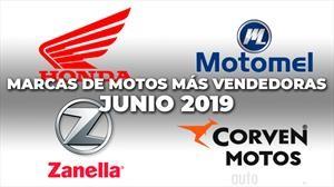Top 10: Las marcas de motos más vendedoras de junio 2019