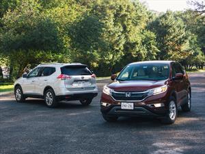 Comparativa SUV's compacto: Honda CR-V vs Nissan X-Trail 2015