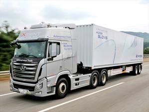 Hyundai Xcient, el camión de conducción autónoma