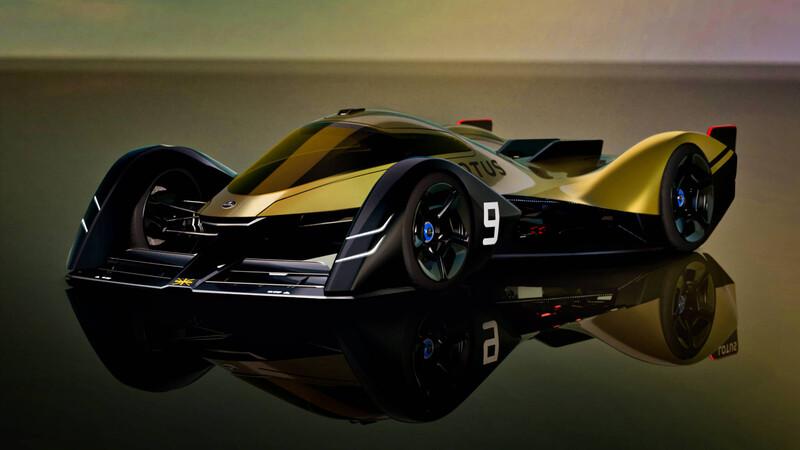 Lotus E-R9: Hecho para las carreras del futuro