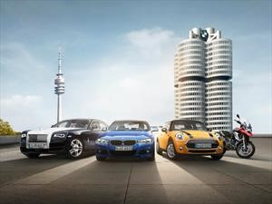 BMW Group registra récord de ventas mundial en 2017