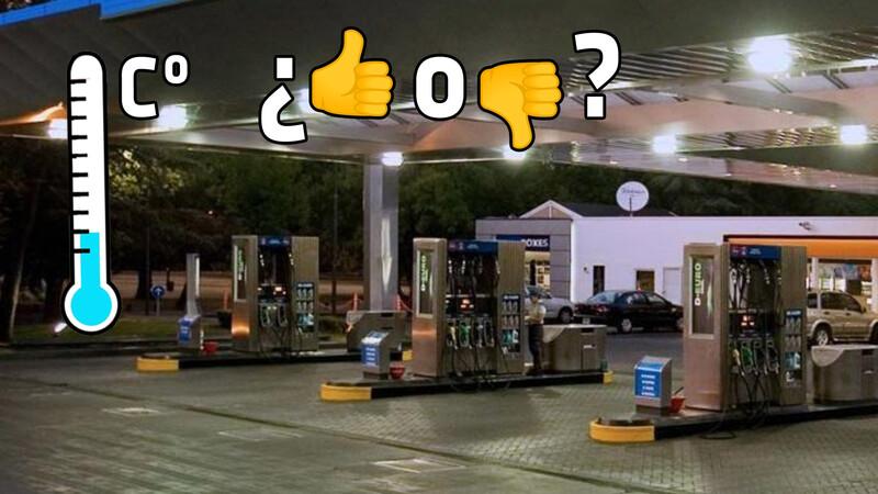 ¿Es más barato cargar nafta en los momentos más fríos del día?