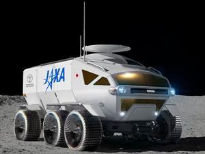 Toyota Space Mobility Concept es el primer vehículo que se podrá conducir en la luna