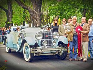 Autoclásica 2012 premió al mejor vehículo de su exposición.