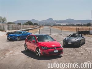Chevrolet Camaro vs Mazda MX-5 vs VW GTI, ¿cuál es el mejor deportivo 4 cilindros?