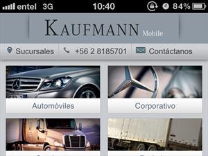 Kaufmann lanza nuevo portal móvil optimizado