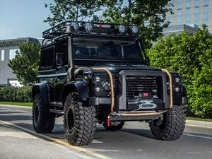 Spectre Edition Land Rover Defender 90, con espíritu James Bond