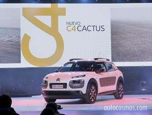 Citroën C4 cactus anuncia su preventa en Argentina