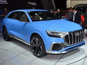 Audi Q8 Concept, el futuro rival del X6 de BMW