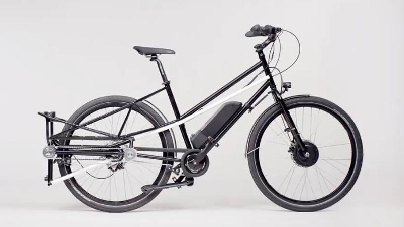 Esta bicicleta es 2 en 1: para maniobrar y cargar lo que sea