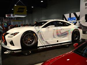 Lexus RC F GT3 Racing Concept listo para las pistas