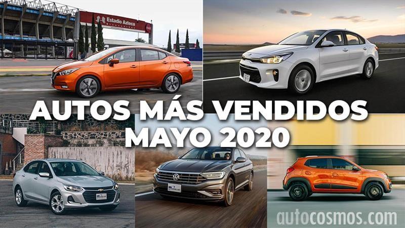 Los 10 autos más vendidos en mayo 2020