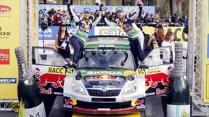 Škoda campeón del mundo de Rally
