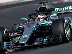 F1 2018: Hamilton fue el mejor en el cierre de los primeros entrenamientos