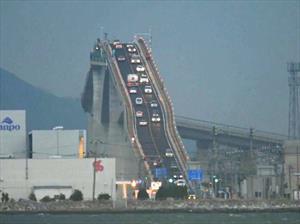 Este es el puente más inclinado del mundo