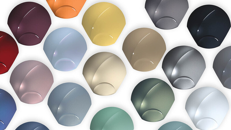 Estos serán los colores que más veremos en los vehículos del futuro
