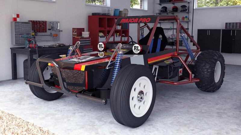 Wild One Max: El clásico de Tamiya creció y es un auto casi a escala real