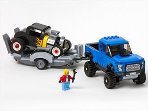 Ford Mustang y F-150 Raptor de LEGO