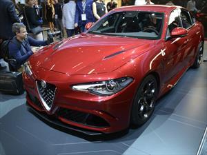 Alfa Romeo Giulia Quadrifoglio Verde se presenta en Frankfurt