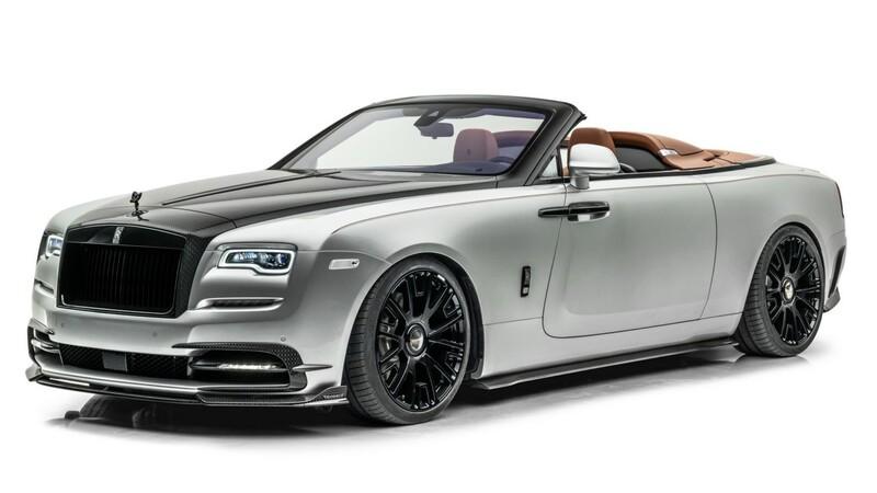 """Rolls-Royce Dawn """"Silver Bullet"""" por Mansory: un súper auto convertible con más de 700 hp"""