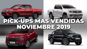 Top 10: Las pick-ups más vendidas de Argentina en noviembre de 2019