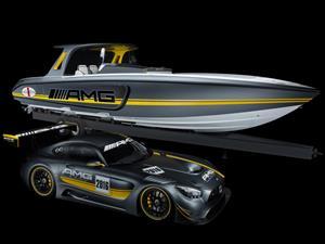 Cigarette Racing Team 41' SD GT3, la lancha inspirada en el Mercedes-AMG GT3