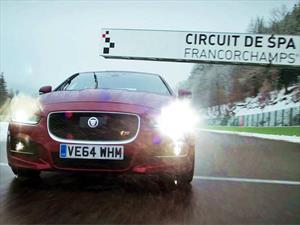 Video: Jaguar XE S al límite en el circuito de Spa-Francorchamps