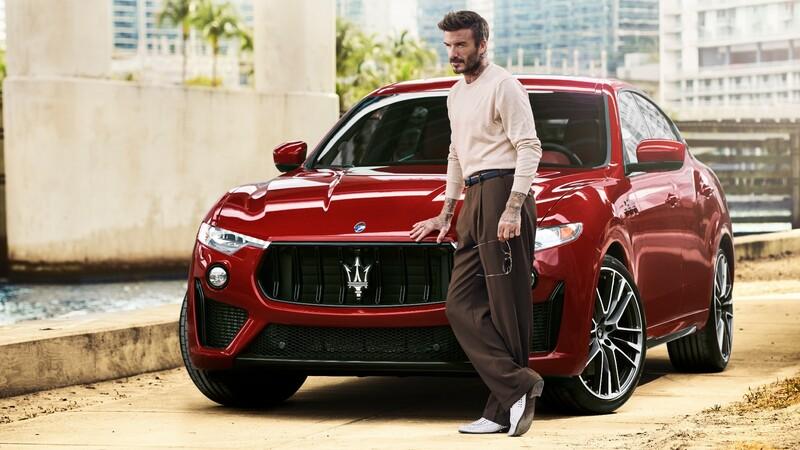 David Beckham es el nuevo embajador de Maserati