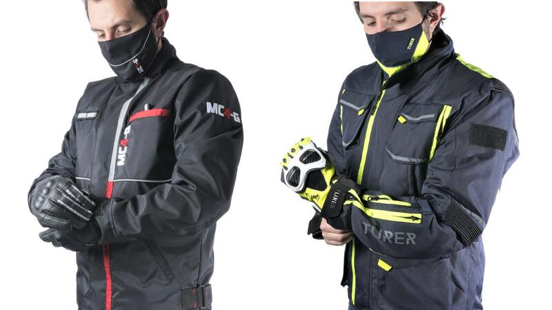 Nanotecnología en prendas para protección de motociclistas