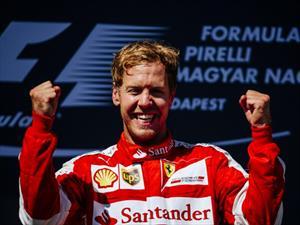 F1: triunfo de Vettel y Ferrari en Hungría