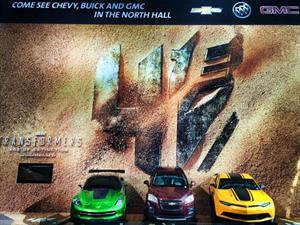 """Chevrolet regresa al cine con """"Transformers: La era de la extinción"""""""