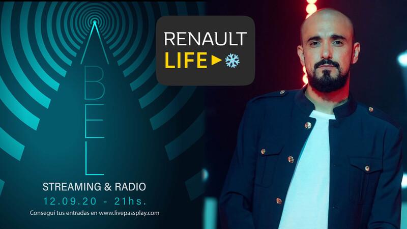 Renault cerrará el Life Winter Edition con Abel Pintos
