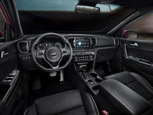 Este es el interior del nuevo KIA Sportage