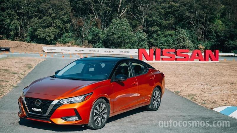 Nissan Sentra 2020 llega con nueva pinta