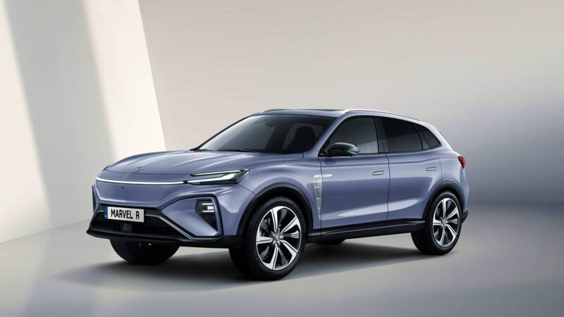 MG estrena su nuevo SUV eléctrico Marvel R